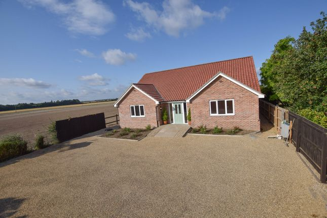 Thumbnail Detached bungalow for sale in Station Road, Isleham, Ely