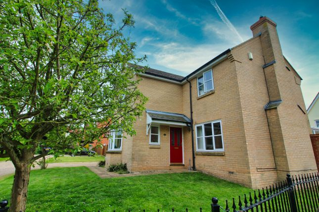 Thumbnail Detached house for sale in Bassingham Crescent, Tiptree, Colchester