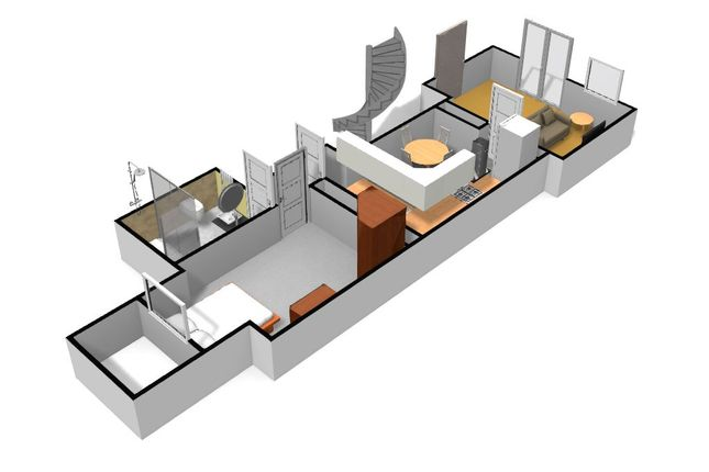 Thumbnail Flat to rent in Flat 2, Lower Ground, Connaught Avenue