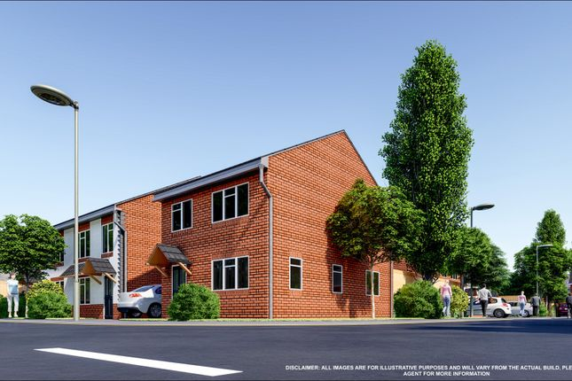 Thumbnail Detached house for sale in Plot 3 Warwick New John Street, Halesowen, West Midlands