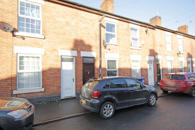 Thumbnail Terraced house to rent in Randolph Road, Derby, Derbyshire