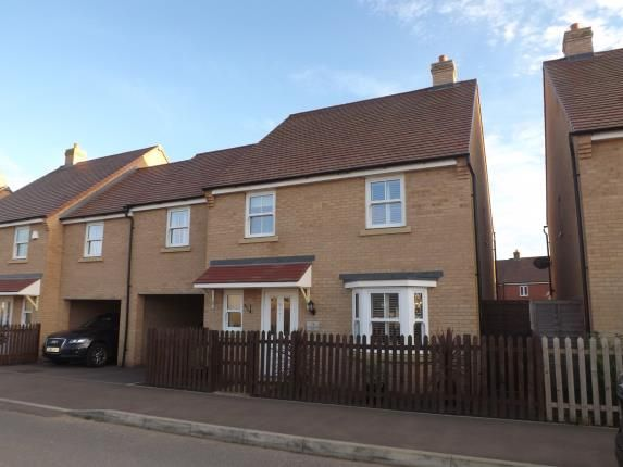 Thumbnail Link-detached house for sale in Rutherford Way, Biggleswade, Bedfordshire