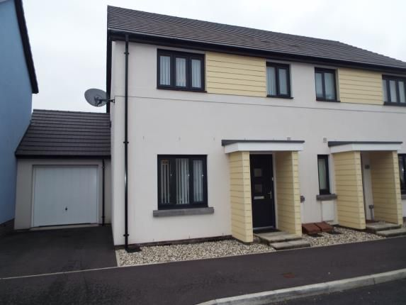 Thumbnail Terraced house for sale in Saltram Meadow, Plymstock, Devon