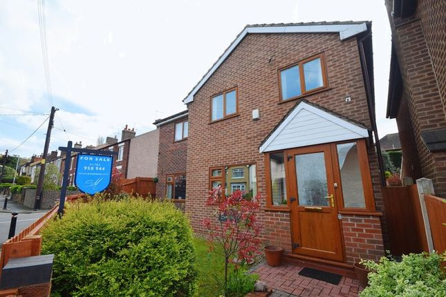 Thumbnail Detached house for sale in Bagnall Road, Milton, Stoke-On-Trent