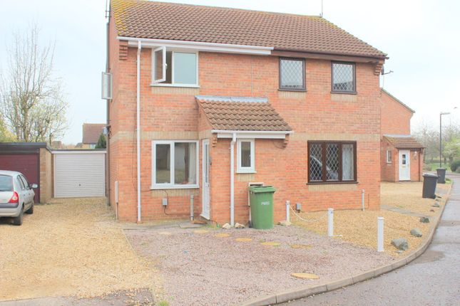 Thumbnail Semi-detached house to rent in Wycliffe Grove, Peterborough