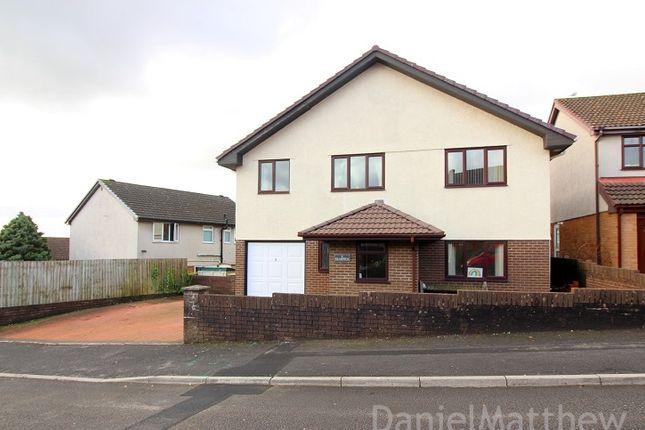 Thumbnail Detached house for sale in Glasfryn, Brackla, Bridgend County.