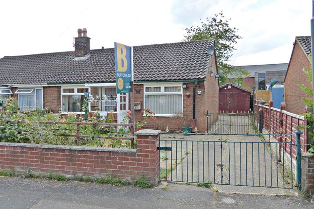 Thumbnail Semi-detached bungalow for sale in Bridge Place, Saxilby, Lincoln