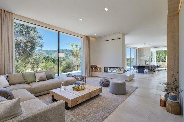 Living Room+View of Spain, Mallorca, Calvià