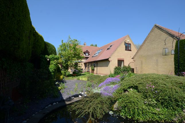 Thumbnail Detached house for sale in Holywell Way, Peterborough