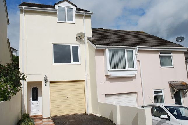 Thumbnail End terrace house for sale in Bench Tor Close, Torquay