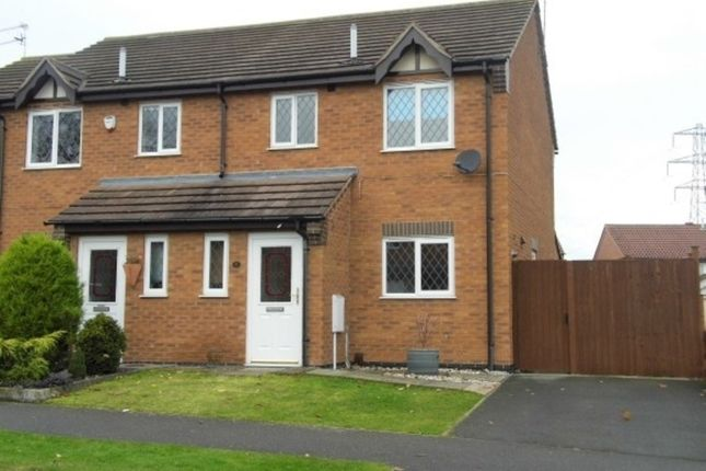 Thumbnail Semi-detached house to rent in Berkshire Drive, Grantham