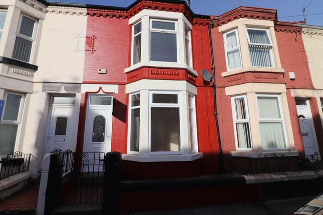Thumbnail Terraced house to rent in Hornby Road, Bootle
