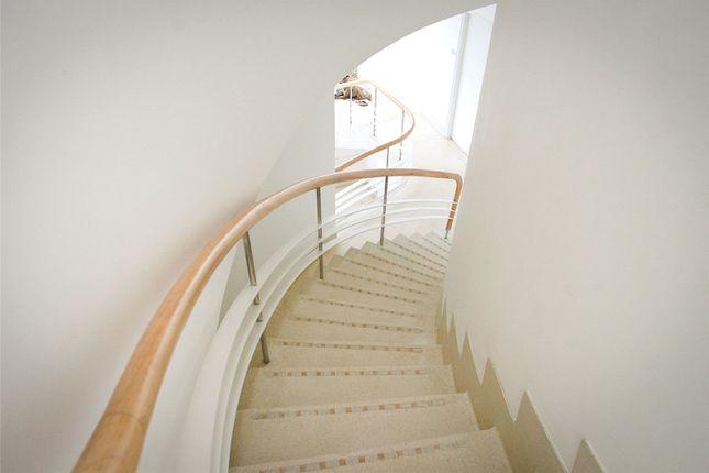 Stairs of St Ann's Court, St Ann's Hill, Surrey KT16