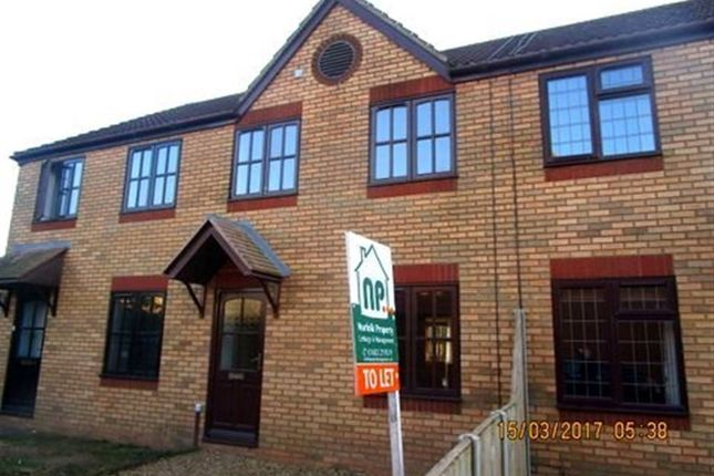 Thumbnail Terraced house to rent in Steeple Chase, Drayton, Norwich