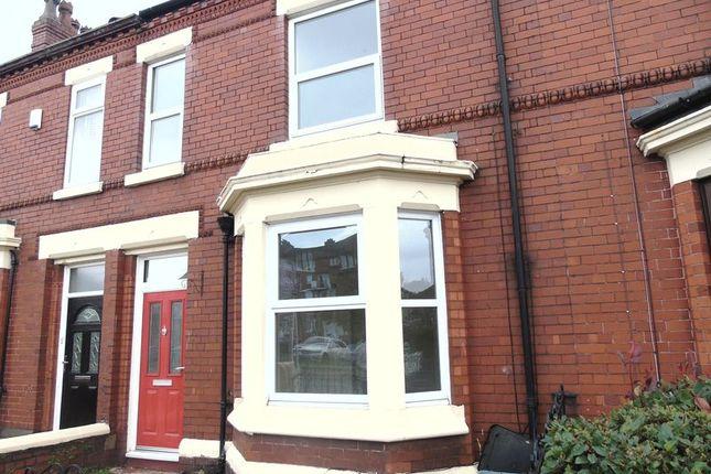Thumbnail Terraced house to rent in Warrington Road, Prescot