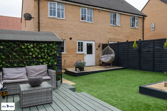 Decking Area  of Parker Crescent, Sawtry PE28