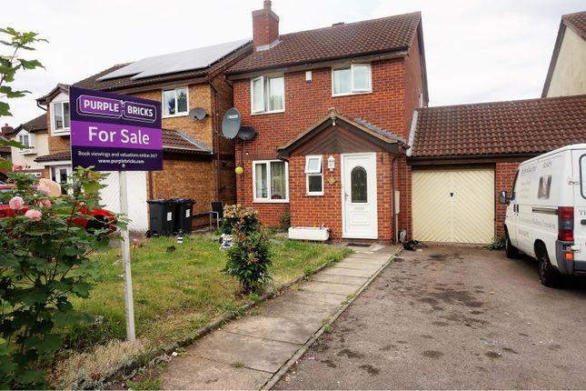 Thumbnail Link-detached house for sale in Greetville Close, Birmingham