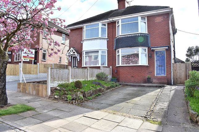 Thumbnail Semi-detached house for sale in Southlands Avenue, Dresden, Stoke On Trent