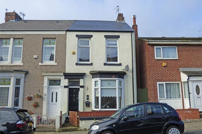 Thumbnail End terrace house for sale in Pollard Street, South Shields, Tyne And Wear