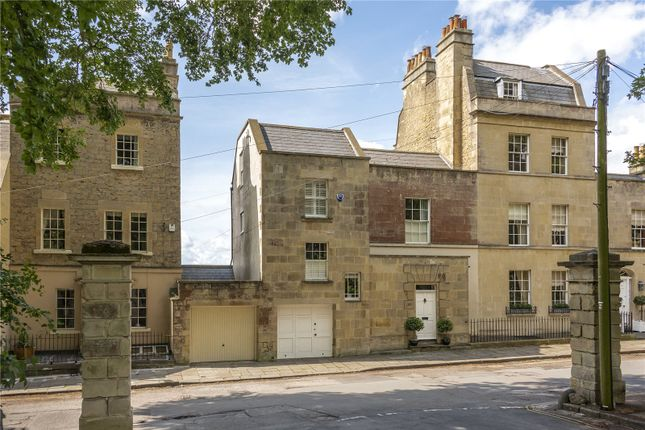 Thumbnail Terraced house for sale in Sion Hill, Bath