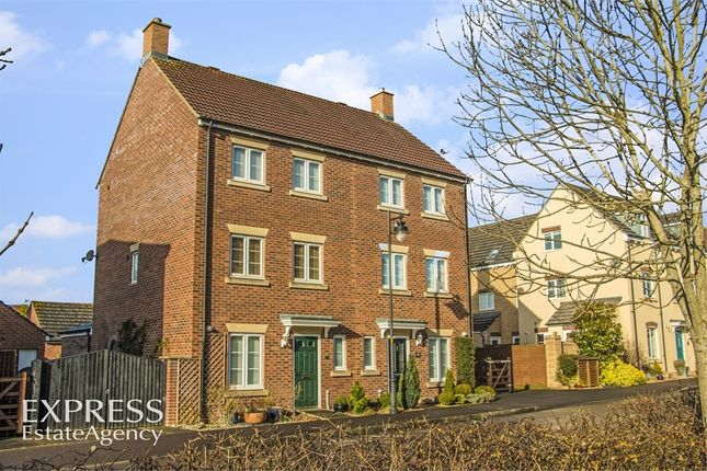 Thumbnail Semi-detached house for sale in Buzzard Road, Calne, Wiltshire