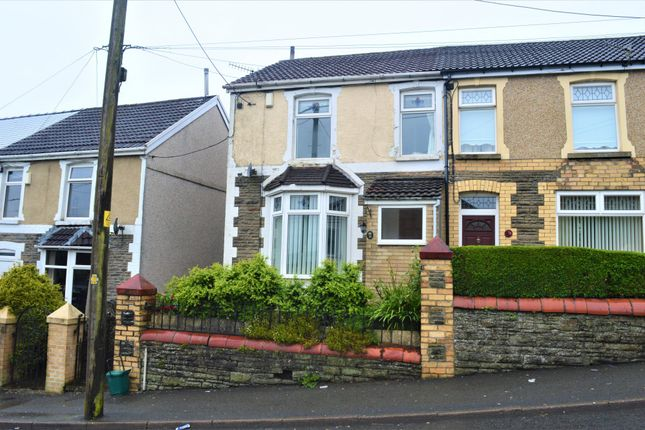 Thumbnail Semi-detached house for sale in Hengoed Road, Hengoed