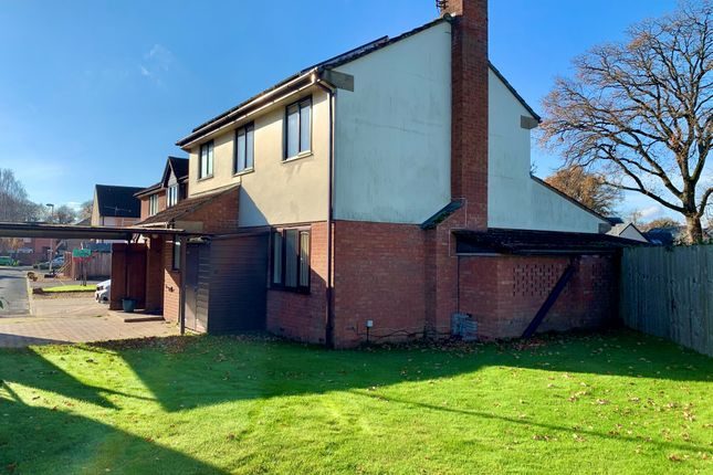Thumbnail Detached house to rent in Beech Close, Willand, Cullompton