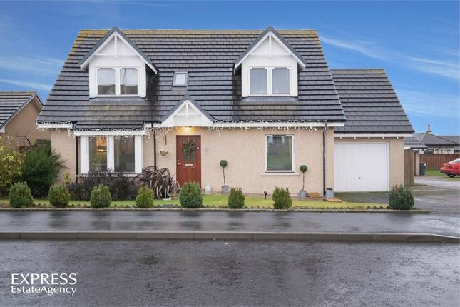 Thumbnail Detached house for sale in Adamson Drive, Laurencekirk, Aberdeenshire