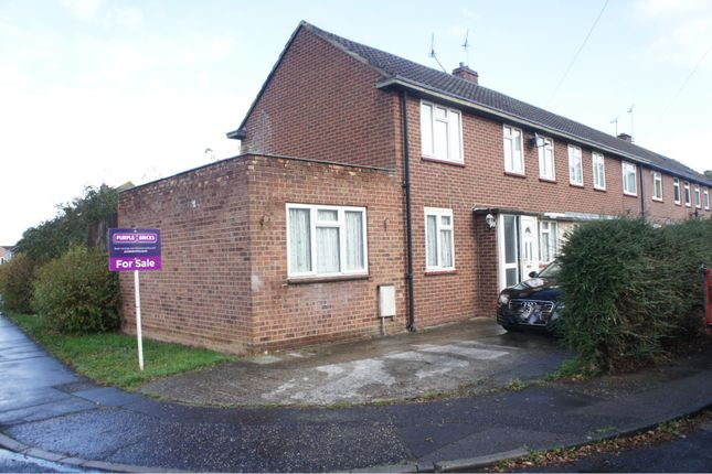Thumbnail End terrace house for sale in Grampian Grove, Chelmsford