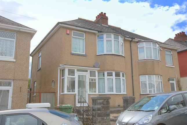 Thumbnail Semi-detached house for sale in Birchfield Avenue, Beacon Park, Plymouth