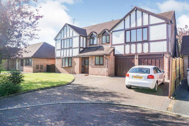 Thumbnail Detached house for sale in Shipton Close, Warrington
