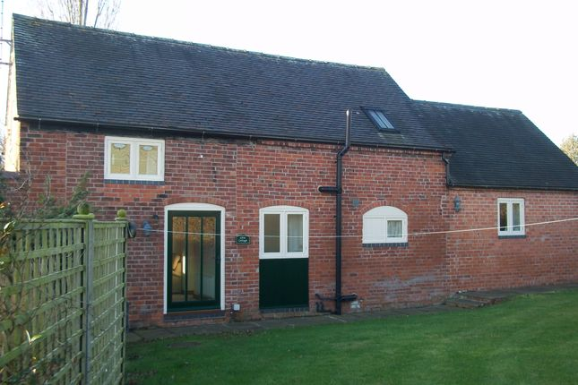 Thumbnail 1 bed cottage to rent in Lilac Cottage, Woodland Views, Marchington Woodlands