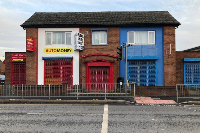 Thumbnail Retail premises to let in Mersey Street, Warrington