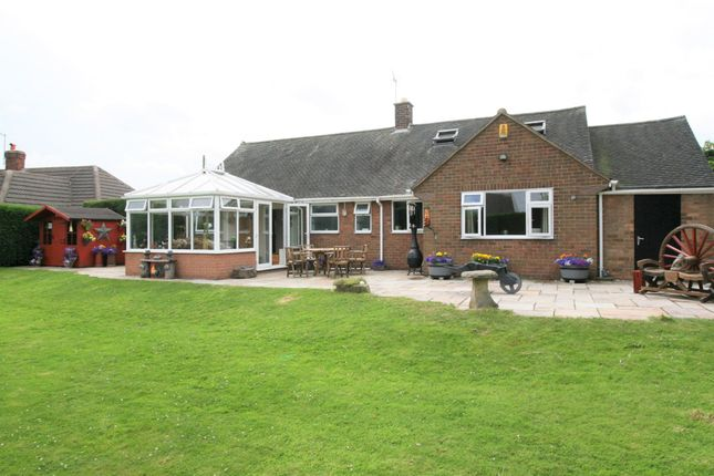 Thumbnail Detached bungalow for sale in Newbold Back Lane, Chesterfield