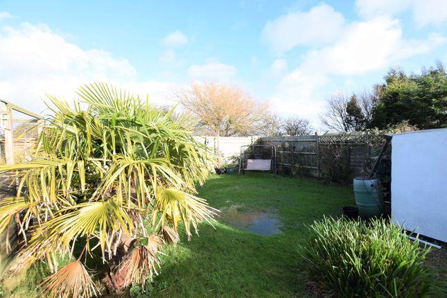 Rear Garden of Sunset Close, Pevensey Bay BN24