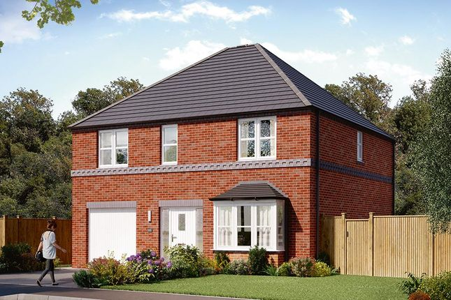 "Thumbnail Detached house for sale in ""The Rosebury"" at Carr Green Lane, Mapplewell, Barnsley"