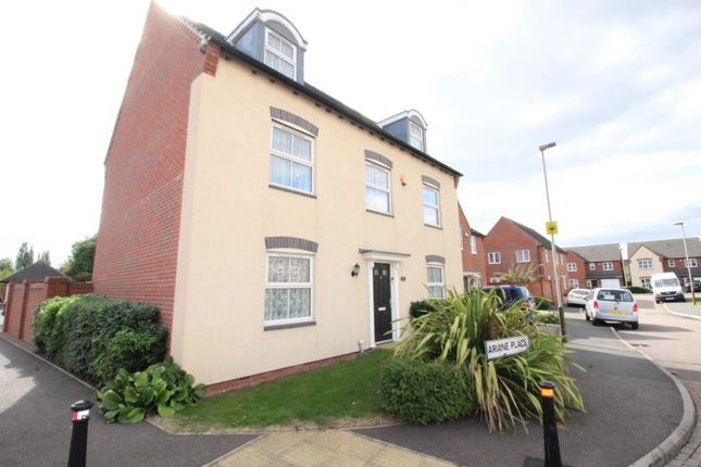 Thumbnail Detached house for sale in Ariane Place, Leicester