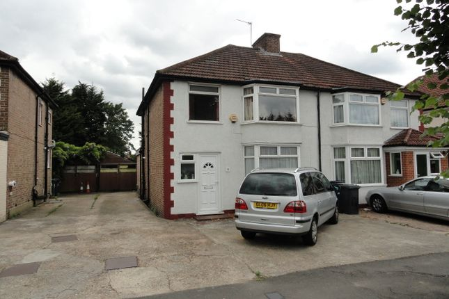 Thumbnail Semi-detached house for sale in Belvue Road, Northolt
