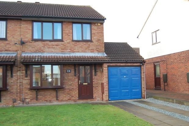 Thumbnail Semi-detached house to rent in Swayne Close, Lincoln