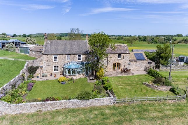 Thumbnail Farmhouse for sale in Lodge Farm, Scargill, Barnard Castle, County Durham