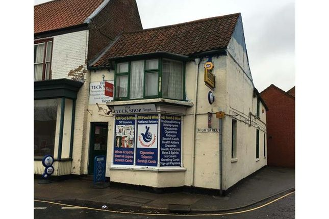 Thumbnail Retail premises for sale in 51A, High Street, Spilsby, Lincolnshire, UK