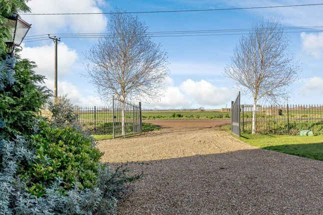 Driveway of Chestnut House, Northside, Thorney, Peterborough PE6