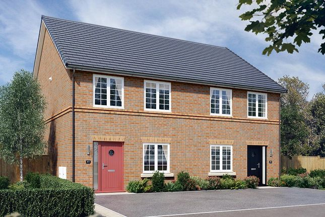 "Thumbnail Town house for sale in ""The Kilmington Mid"" at Walker Drive, Stamford Bridge, York"