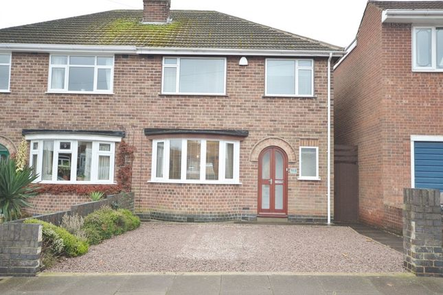 Thumbnail Semi-detached house for sale in Avebury Avenue, Stadium Estate, Leicester