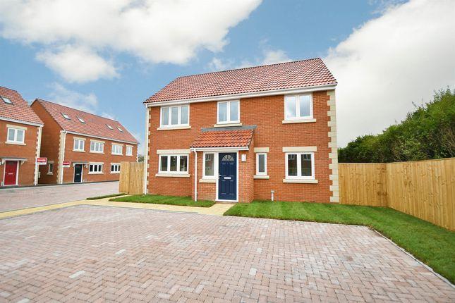 Thumbnail Detached house for sale in Chippenham Road, Lyneham, Chippenham