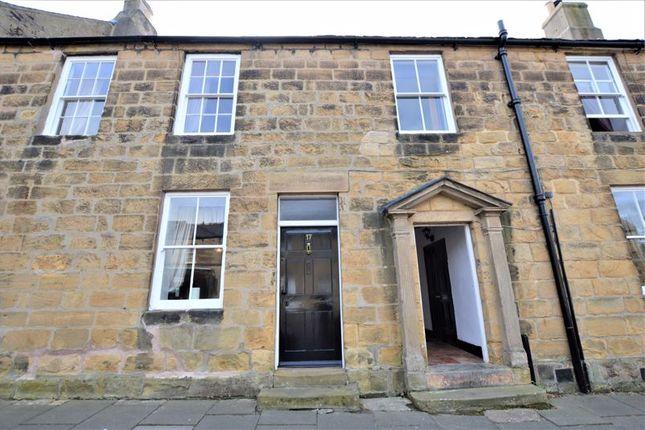 2 bed terraced house for sale in Bailiffgate, Alnwick NE66