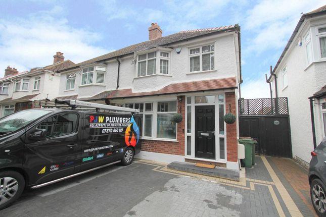 Thumbnail Semi-detached house for sale in Cedars Road, Beddington, Croydon