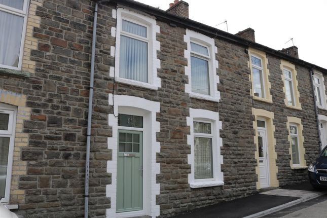 Thumbnail Terraced house for sale in Lewis Street, Blackwood