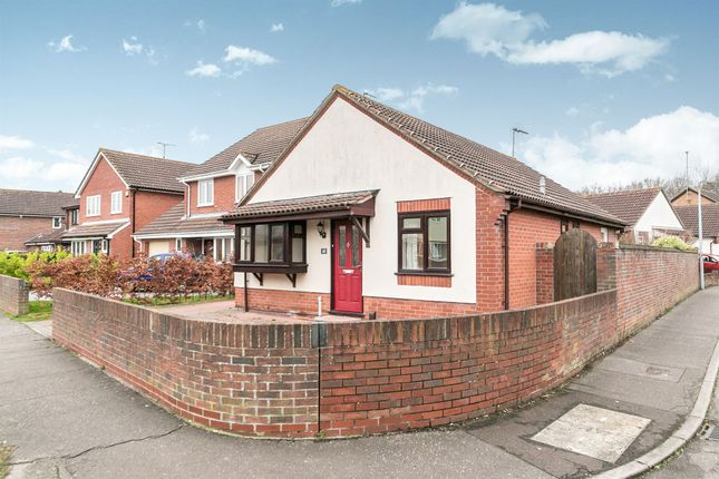 Thumbnail Detached bungalow for sale in Northfield Gardens, Highwoods, Colchester