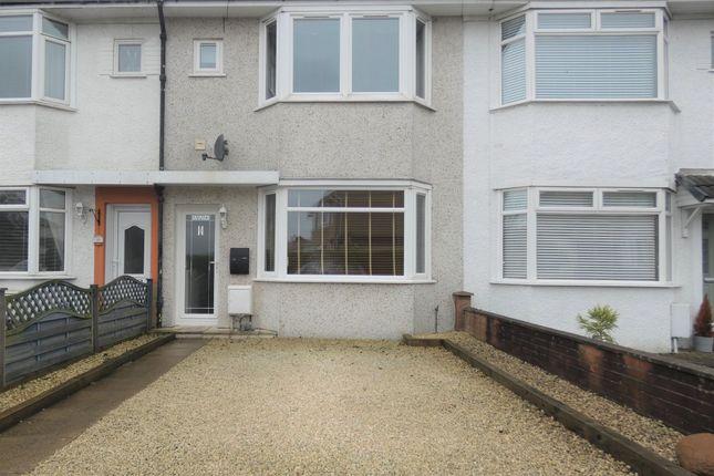 Thumbnail Terraced house for sale in Hillcrest Drive, Stevenston